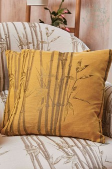The Chateau by Angel Strawbridge Bamboo Cushion