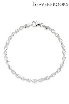 Beaverbrooks Silver Twist Bracelet
