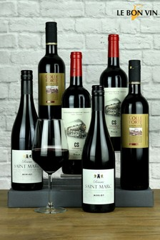 Le Bon Vin Good Old World Red Wine Mixed Half Case 75cl