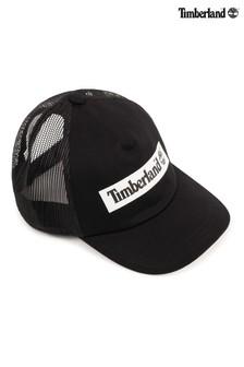 Timberland® Black Logo Cap