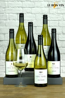 Le Bon Vin Saint Marc Half Mixed Wine Case