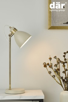 Dar Lighting Cream Frederick Table Lamp
