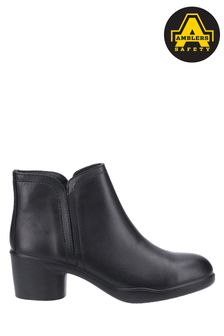 Amblers Safety Black As608 Tina Ladies Safety Ankle Boots