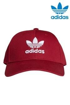 adidas Originals Kids Burgundy Baseball Cap