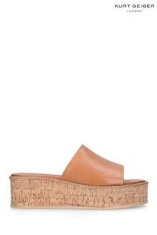 Kurt Geiger London Natural Maci Sandals