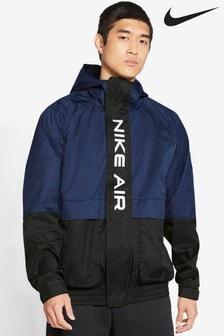Nike Air Navy Woven 1/2 Zip Jacket