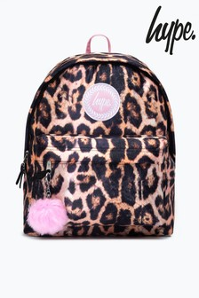 Hype. Leopard Backpack