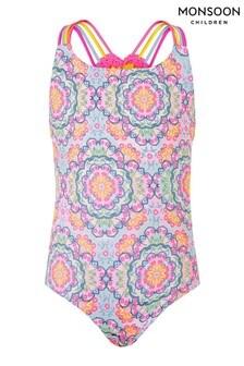 Monsoon Mandala Crochet Back Swimsuit