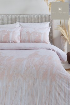 Pampas Duvet Cover and Pillowcase Set by The Linen Yard