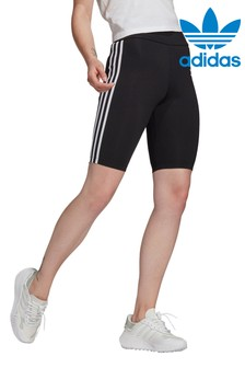adidas Originals Black High Waisted Shorts