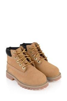 Kids Chestnut Premium Boots