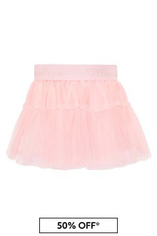 Monnalisa Baby Girls Pink Skirt