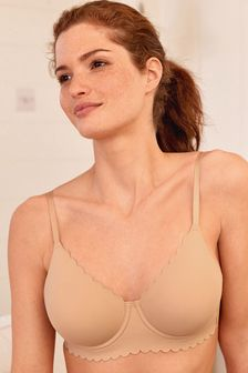 Nude Holly Forever Lite® Non Padded Wired Scallop Bra
