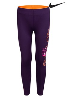 Nike Little Kids Purple JDI. Leggings