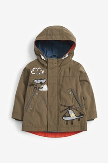 Khaki Helicopter Jacket (3mths-7yrs)