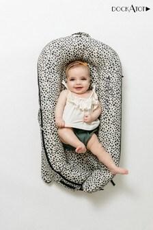 DockATot Painted Spots Grey Deluxe+ Baby Pod 08 Months