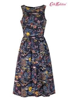 Cath Kidston® Blue Sleeveless Sunset Toile Dress