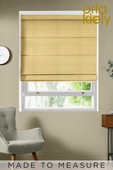 Scribble Olive Green Made To Measure Roman Blind by Orla Kiely