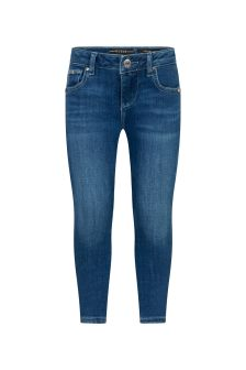 Guess Girls Blue Cotton Jeans