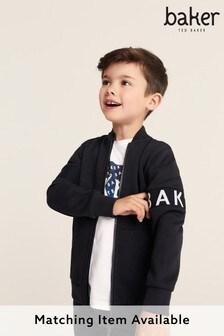 Baker by Ted Baker Black Zip Through Jacket