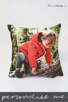 Personalised 12x12 Faux Suede Photo Cushion by Photo Panda