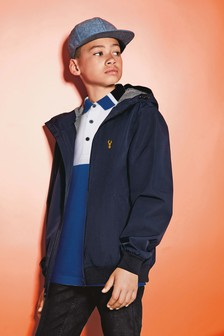 Navy Bomber Jacket (3-16yrs)