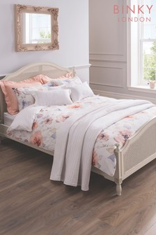 Binky Maisie Cotton Floral Duvet Cover and Pillowcase Set