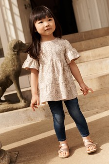Morris & Co Floral Print Tiered Tunic (3mths-7yrs)
