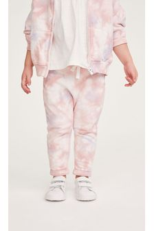 Pink Tie Dye Joggers Soft Touch Jersey (3mths-7yrs)