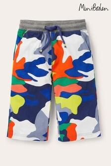 Boden Navy Jersey Shorts