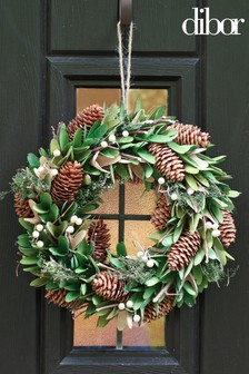 Dibor Mistletoe Kisses Wreath