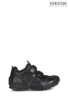 Geox Junior Boy/Unisex's Savage Black Shoes