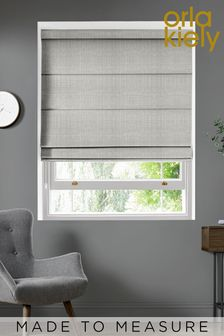 Scribble Cool Grey Made To Measure Roman Blind by Orla Kiely