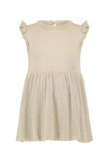 Emporio Armani Baby Girls Gold Dress