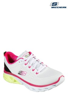 Skechers® White Glide-Step Sport New Appeal Trainers