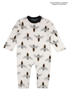 Turtledove London Honey Bee Multi Romper