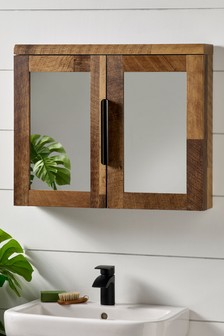 Bronx Mirrored Wall Cabinet