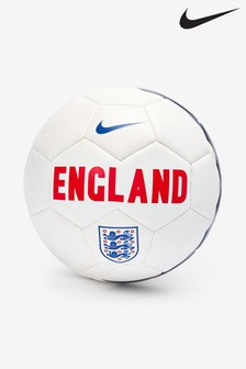 Nike White England Prestige Football