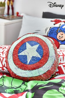 Marvel Sequin Cushion
