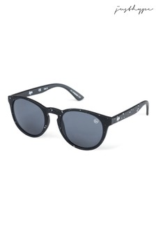 Hype. Speckle Round Sunglasses