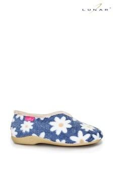 Lunar Ladies Flower Pattern Slippers