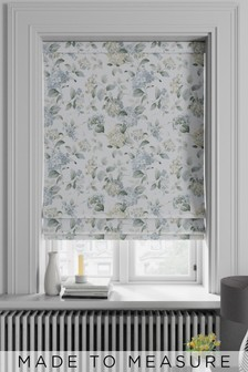Judson Forget Me Not Blue Made To Measure Roman Blind