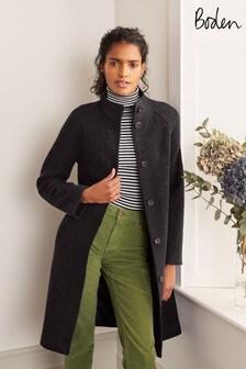 Boden Black Cartwright Coat