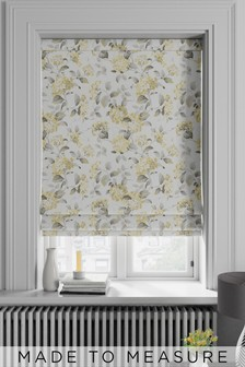 Judson Lemon Gold Made To Measure Roman Blind