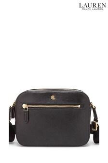 Ralph Lauren Saffiano Leather Cross Body Bag