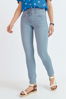 Bleach Lift, Slim And Shape Slim Jeans