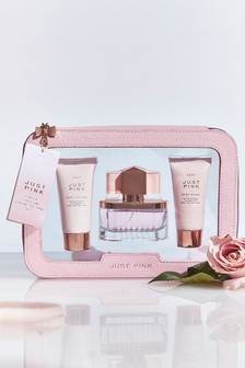 Just Pink 30ml Eau De Parfum Cosmetic Bag Gift Set