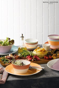 Set of 4 Royal Doulton 28cm 1815 Bright Dinner Plates