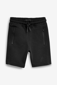 Black Sporty Shorts (3-16yrs)