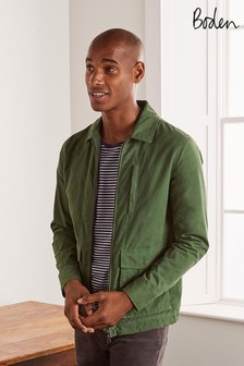 Boden Broccoli Hexham Zip Jacket